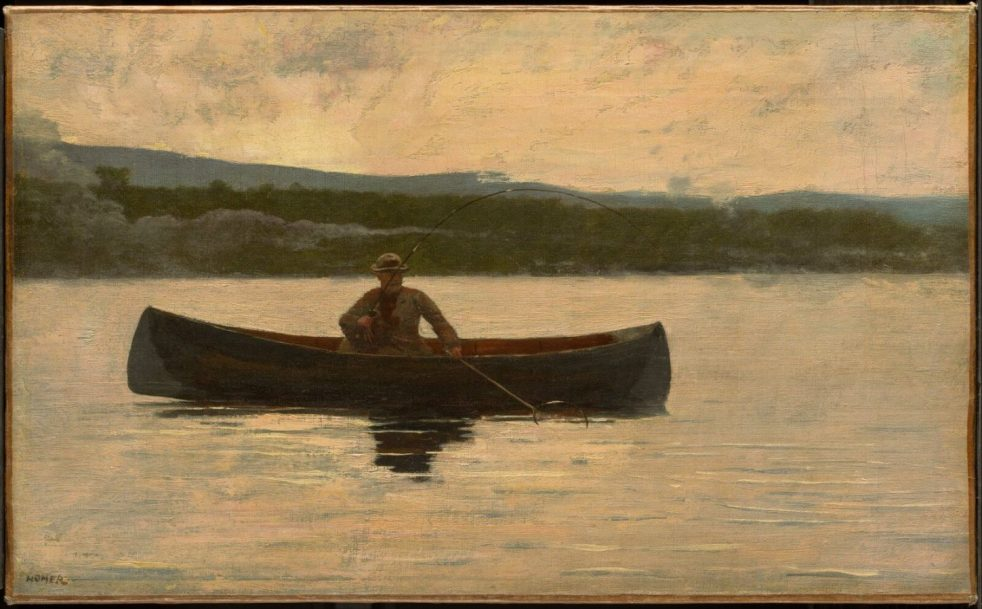 Winslow Homer, Playing a Fish
