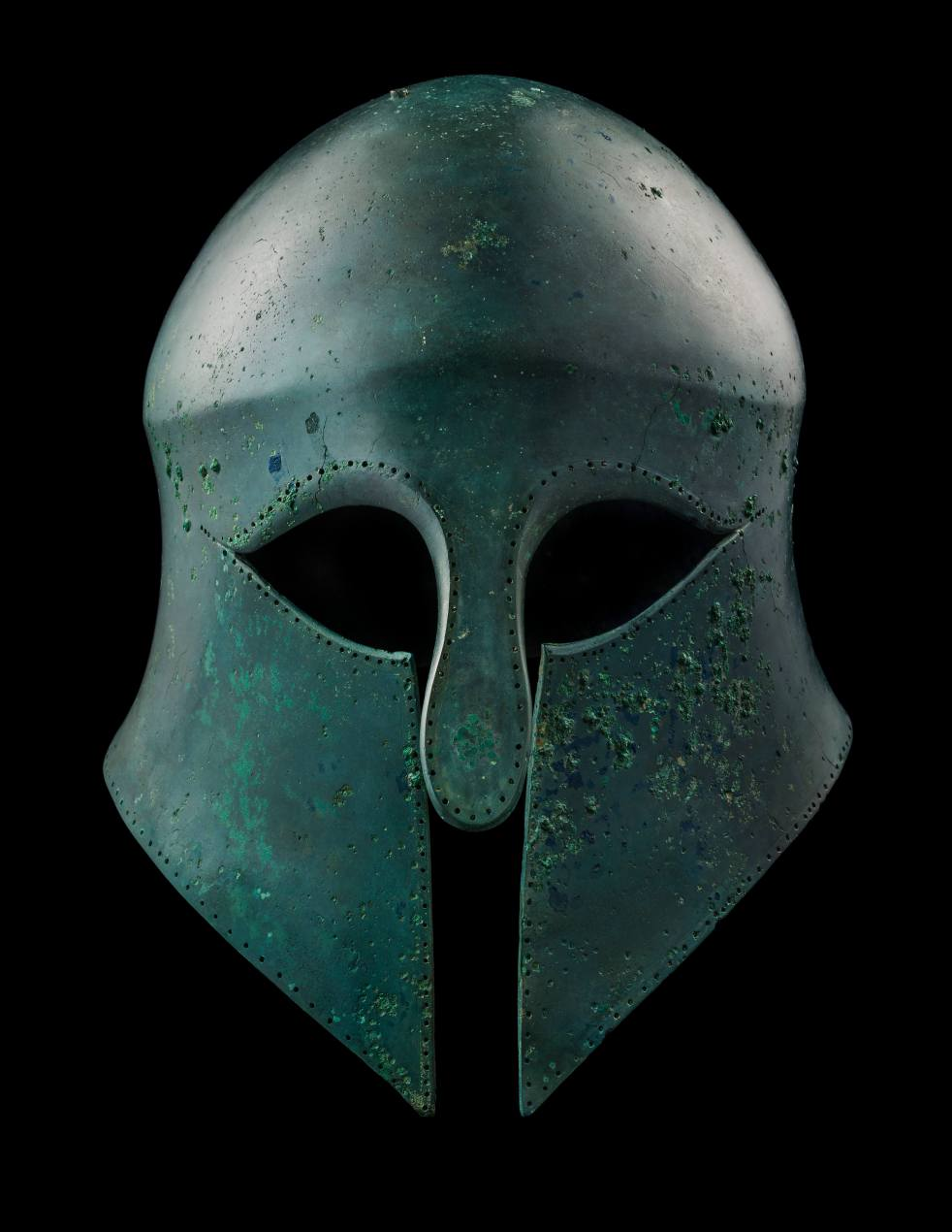 Safani Greek Corinthian Helmet TEFAF Online