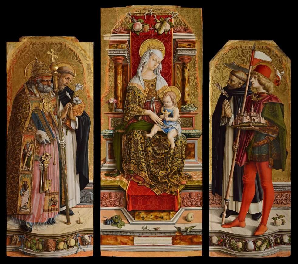 Carlo Crivelli, Camerino Triptych