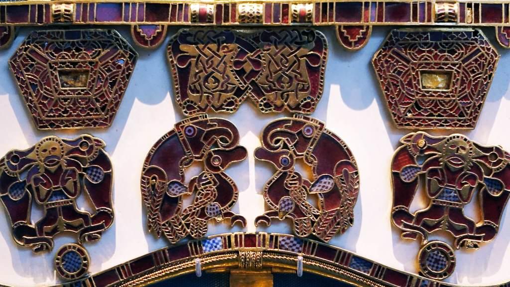 Sutton Hoo Purse Lid detail