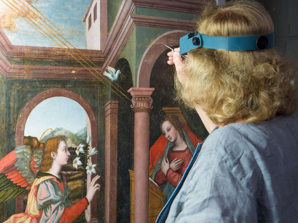 Annunciation-Nelli-Conservator-Rossella-Lari-Ph-Francesco-Cacchiani