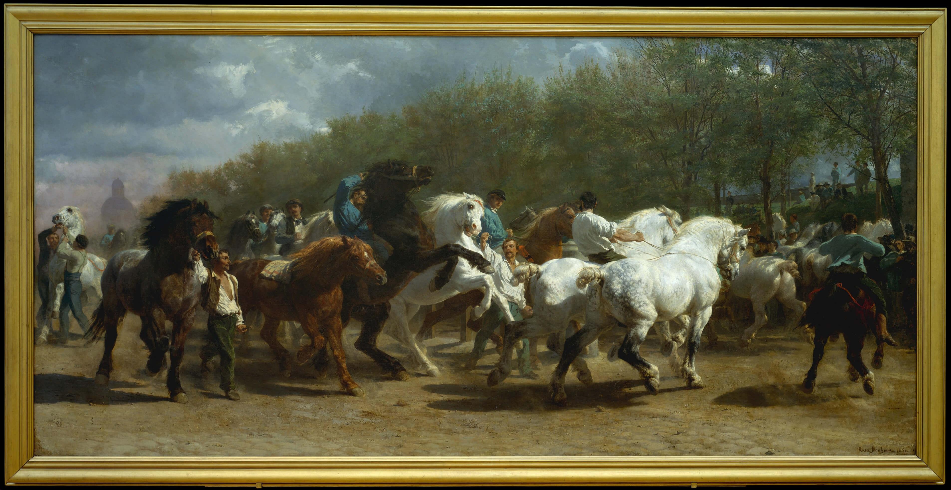 Rosa Bonheur, The Horse Fair