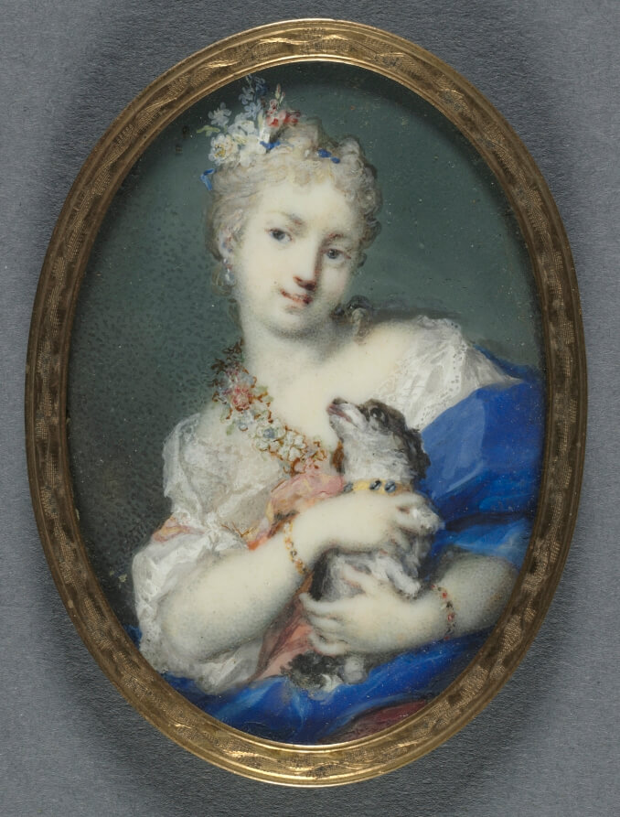 Rosalba Carriera, Woman with a Dog