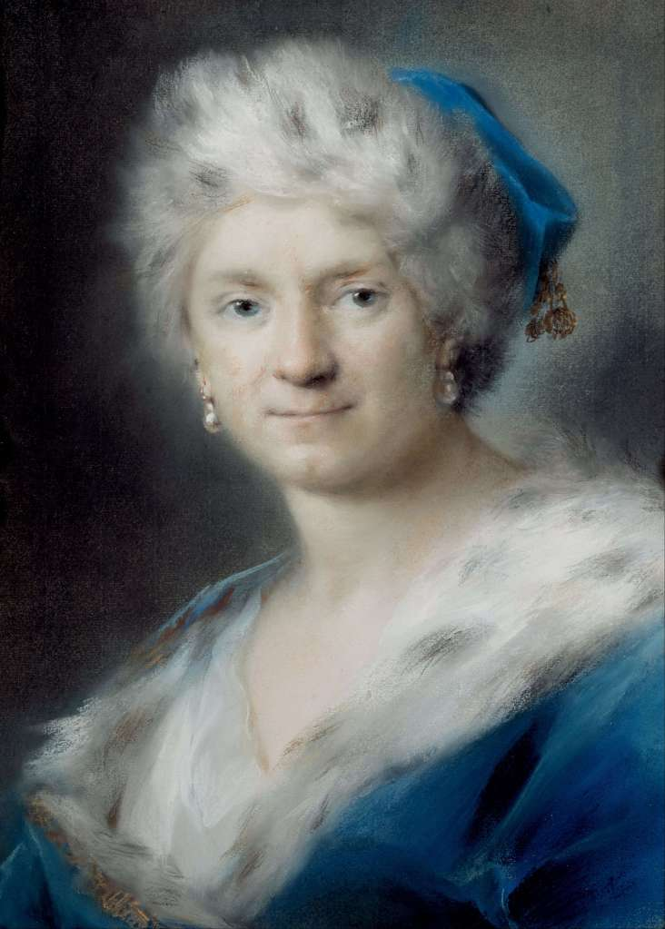 Rosalba_Carriera_-_Self-Portrait_as_'Winter'