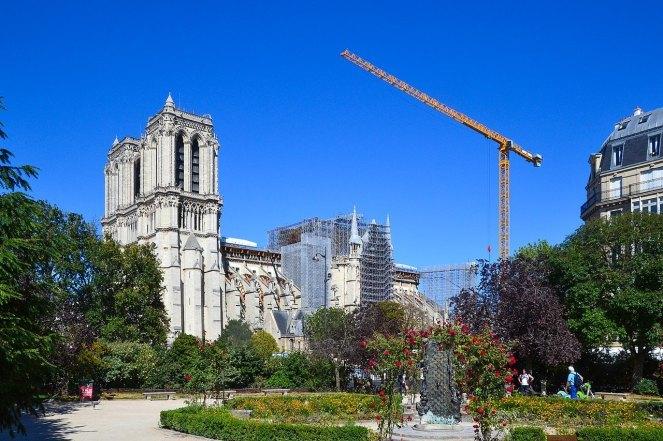 Notre-Dame de Paris, July 30, 2020