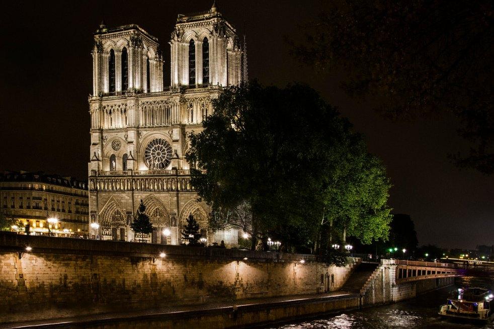 Notre-Dame de Paris in 2015