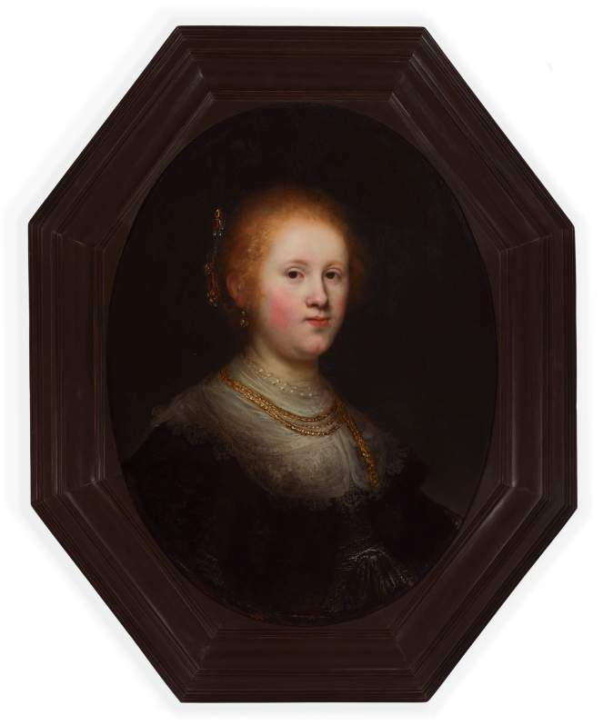 Conserved Rembrandt (2020) with new frame(1)